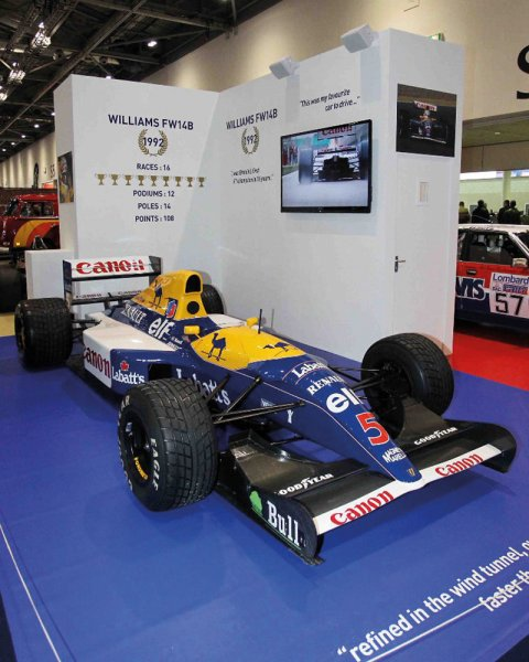 Nigel Mansell title winning Williams-Renault FW14