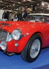 Austin Healey 1961 UJB 143 works rally car