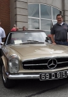 First Ireland team with Ivan Fox's Merc 280SL
