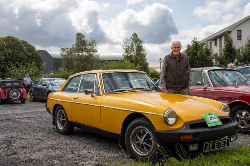 Foxford-23.-John-Rattigan-1978-MGB-GT.-Pic-Sinead-Mallee