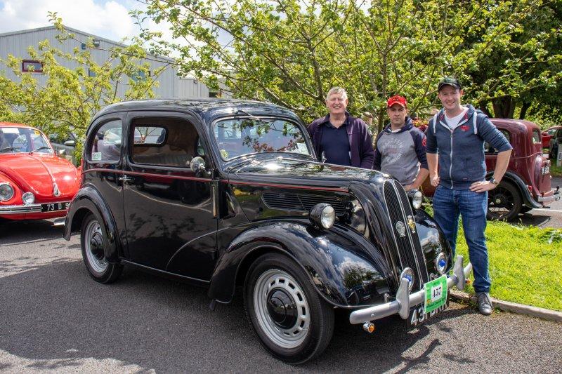 Foxford-28.-Brian-Edward-Kennedy-and-Enda-Moylette-with-Ford-Popular-1957.-Pic-Sinead-Mallee