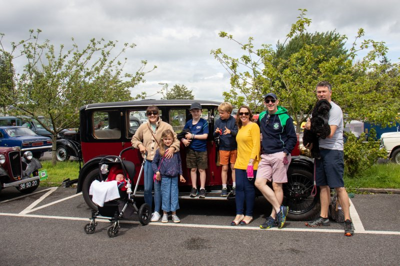 Foxford-5.-Connor-family-from-Crossmolina-with-their-Austin-16-1929.Pic-Sinead-Mallee