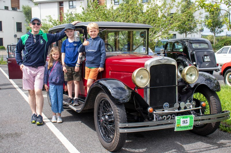 Foxford-6.-Connor-family-from-Crossmolina-with-their-Austin-16-1929-2.Pic-Sinead-Mallee