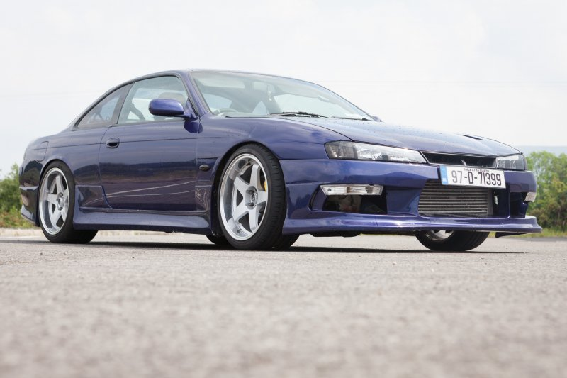 This Nissan Silvia owned by Nial OBoyle is Fully Forged and Dynoed at 387 HP