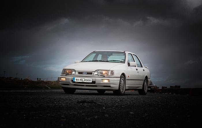 Sierra Gerry more commonly known on the clubs forum brought along his 2 ltr GLS whch was well fit to keep up with the pack.