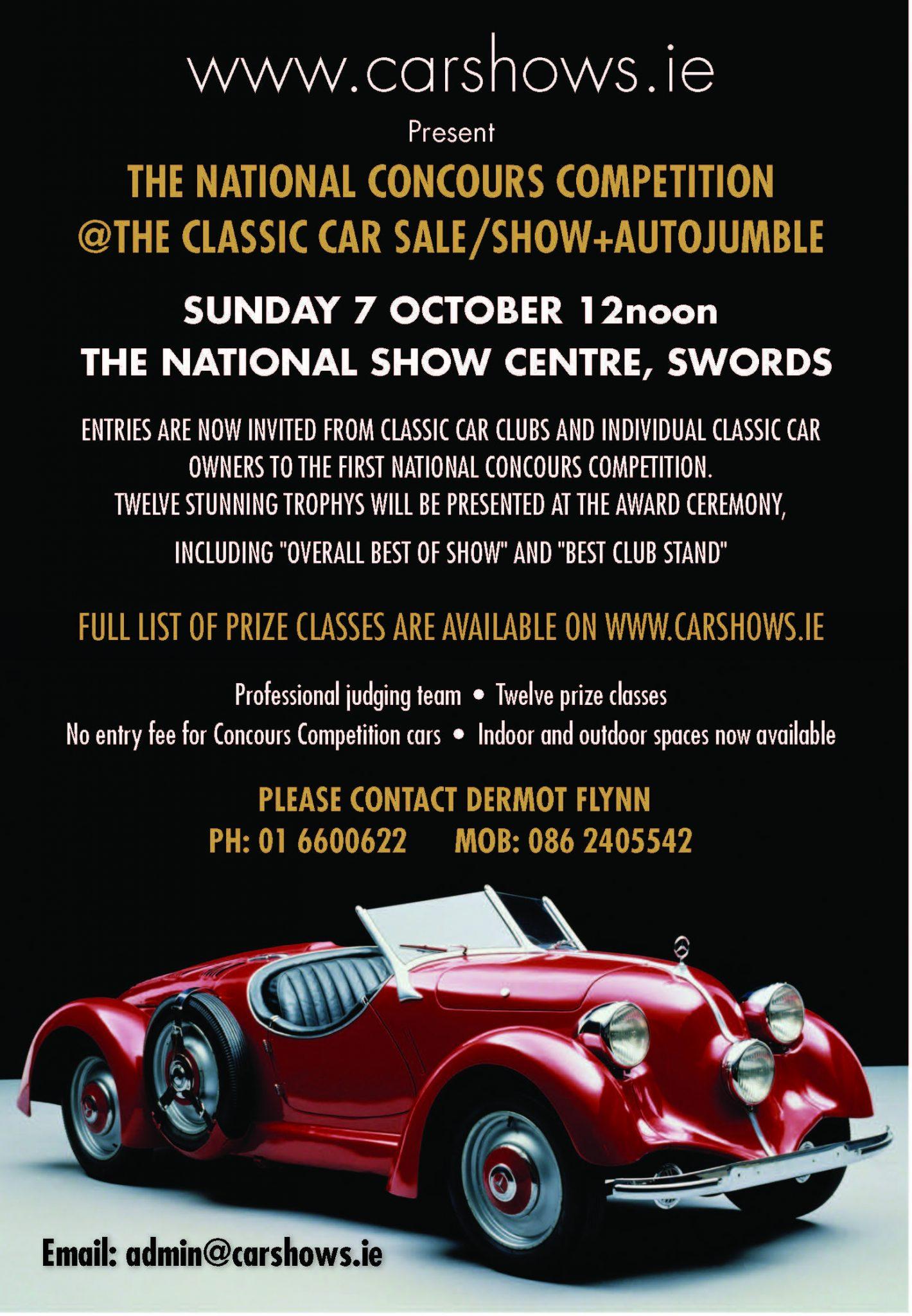 Classic car Ad – Irish Vintage Scene Magazine