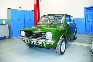 This beautifully-restored Mini 1275 GT is now for sale; contact Auto Revival for details.
