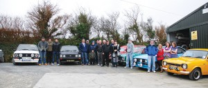 Just some of Shamrock Panels' customers and cars that turned up for my visit.