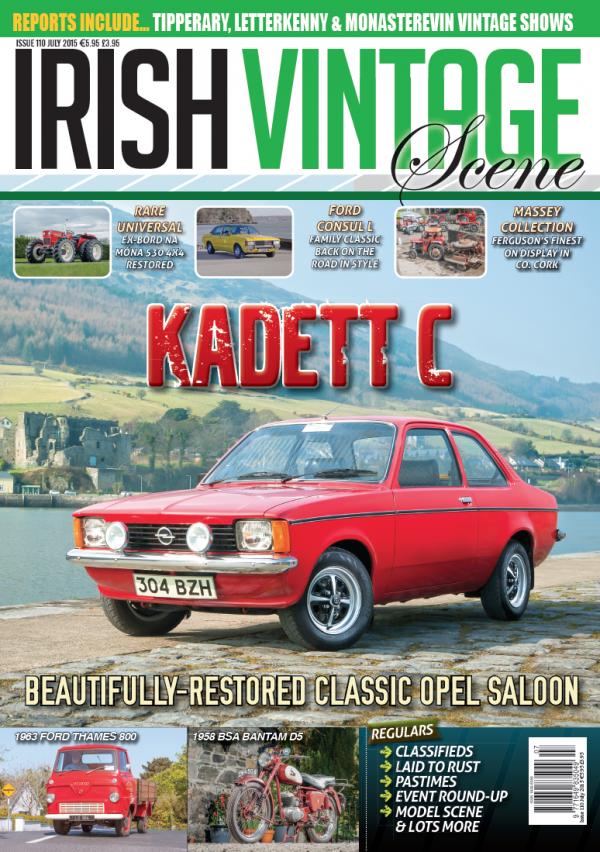 Issue 110 (July 2015) Irish Vintage Scene