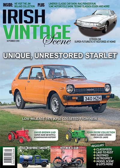 Irish Vintage Scene Magazine Page Irelands Leading Monthly - Bedford car show 2018