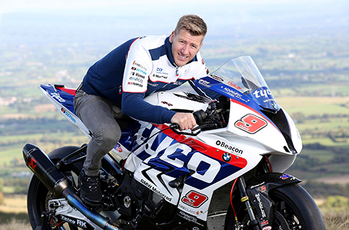 Ian 'Hutchy' Hutchinson - riding the TYCO BMW in 2016