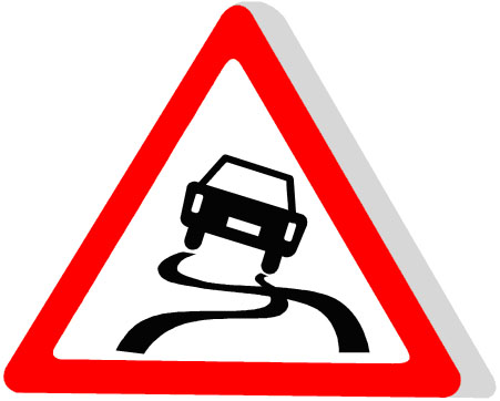 slippery-road
