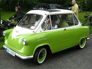 1958 Zundapp Janus Photo